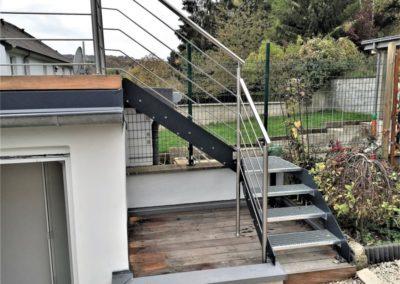 Escalier métallique 3