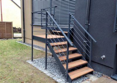 Escalier métallique 1